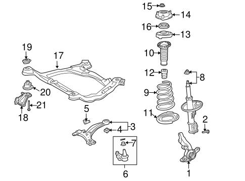 2004 Toyota Sienna Exhaust Diagram