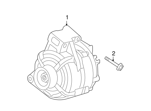 General Motors Alternator, General, Free Engine Image For