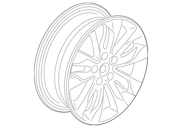Discount Genuine OEM Honda Disk, Aluminum Wheel (18X7 1/2J