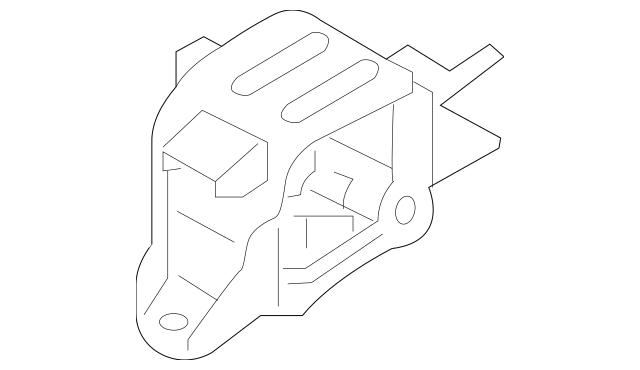 Hyundai Bracket Assembly Transmission Mtg 21830-F3200