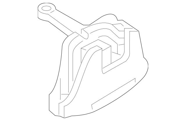 Hyundai Bracket Assembly-Engine Mtg 21810-F3300