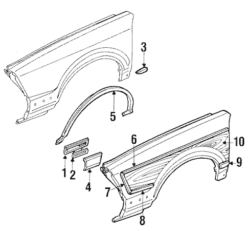Buy OEM Molding for 1994 Buick Century at discounted