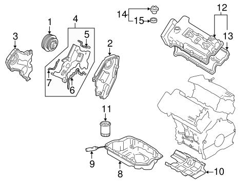 ENGINE PARTS for 2002 Mazda Millenia