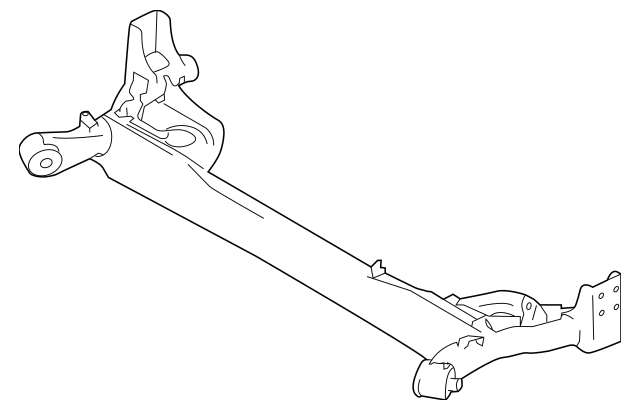 Nissan Arm Assembly-Rear Suspension, Right-Hand 55501