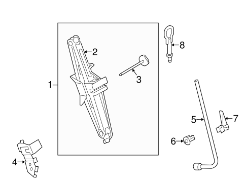 Jack & Components for 2015 Ford Transit Connect