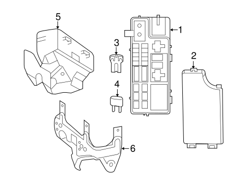 2014 Jeep Comp Fuse Box Diagram