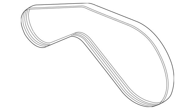 Volkswagen Serpentine Belt (079-903-137-AA) For Sale