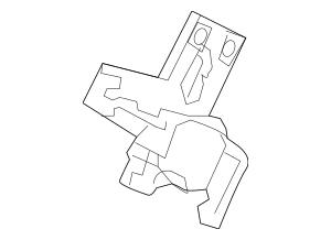 2009-2014 Acura TL SEDAN Actuator Assembly, Fuel Lid 74700