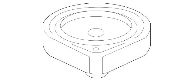 2009-2014 Acura Speaker Assembly (17CM-Nd) (Single)(Els