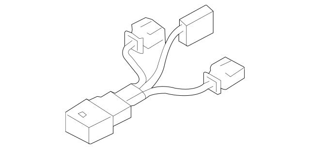 OEM Porsche Micro-Switch Part # 955-613-043-00 Fits 2003