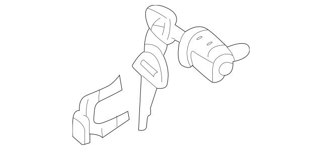 1999-2004 Chevrolet Tracker Cylinder & Keys 91175208