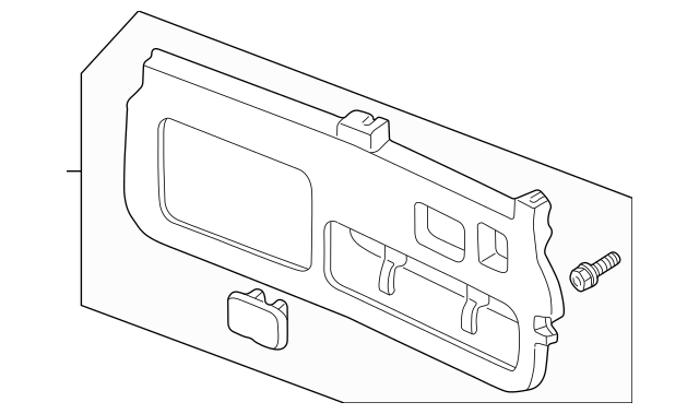 Discount Genuine OEM Honda Lining Assembly, Tailgate