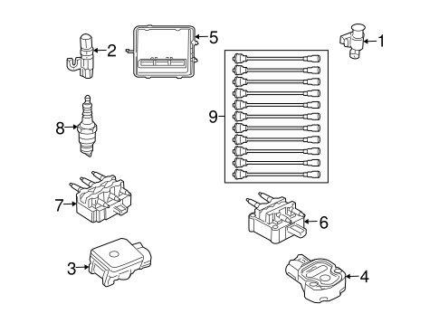 IGNITION SYSTEM for 2006 Dodge Viper