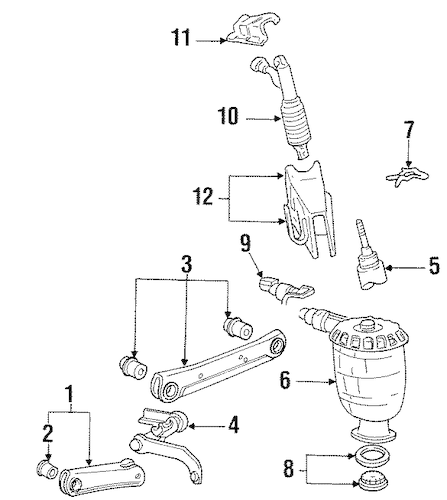 Service manual [2000 Lincoln Town Car Front Axle Repair