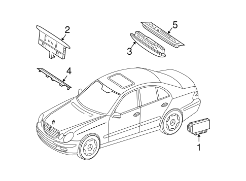 Electrical Components for 2005 Mercedes-Benz E 500