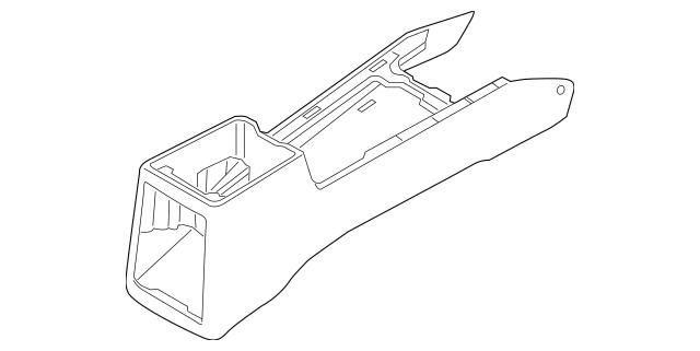 2007-2009 Kia Sorento Console Body 84611-3E002WK
