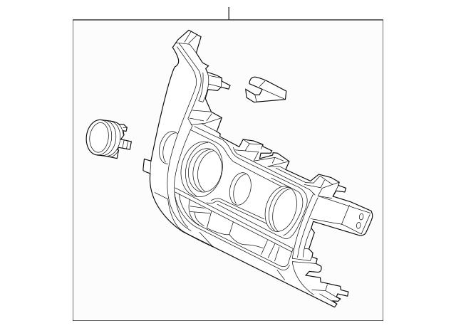 Discount Genuine OEM 2015-2017 Honda FIT 5-DOOR Panel