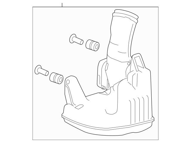 2013-2017 Honda Chamber Assembly, Resonator 17230-5G0-A00