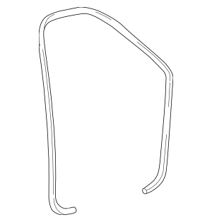Buy this genuine OEM 1997-2004 Ford Weather-Strip On Body