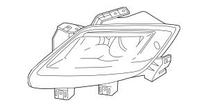 2007-2009 Mazda CX-9 Composite Headlamp TD13-51-041A