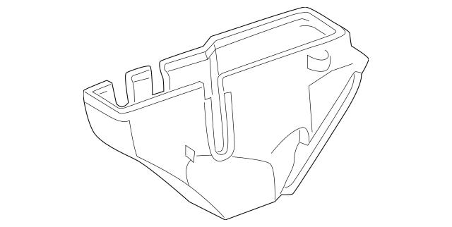 1998-2003 Mercedes-Benz Fuse & Relay Box 208-540-00-50