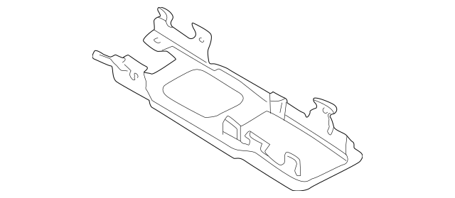 2000-2006 Audi Console Body Retainer 8N0-863-531-G