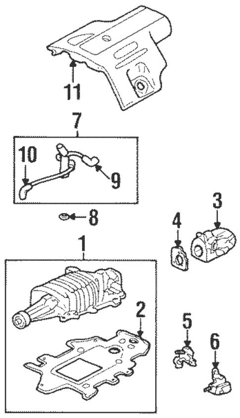 Supercharger & Components for 2002 Pontiac Grand Prix