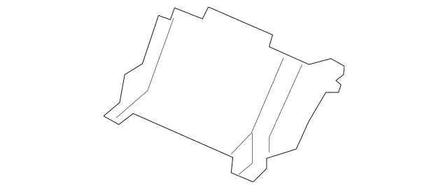 2009-2011 Acura TL SEDAN Pocket *YR399L* (Wood) (Dark