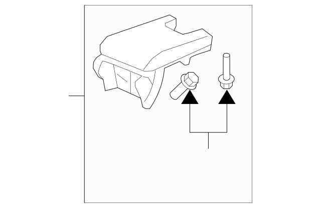 2009-2011 Acura TL SEDAN Armrest *Type D* 83402-TK4-A02ZD