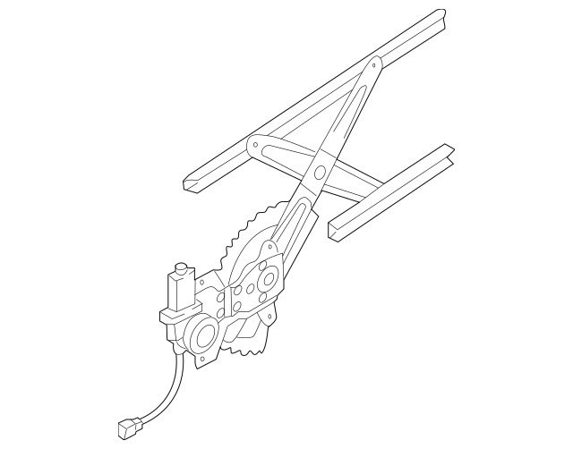 2007-2009 Kia Sorento Window Regulator 83404-3E000