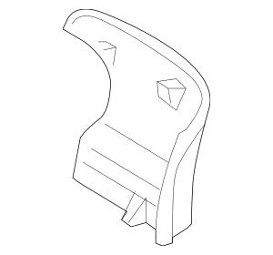 2013-2015 Toyota Venza Seat Back Panel 71705-06100-C2