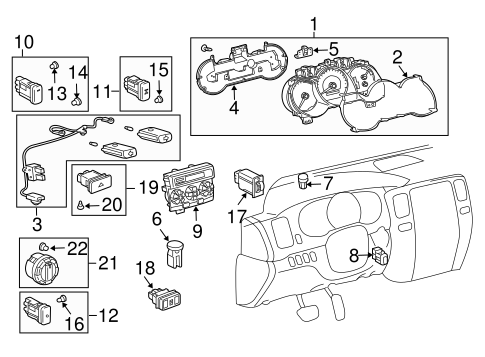 Automatic Temperature Controls for 2003 Toyota 4Runner