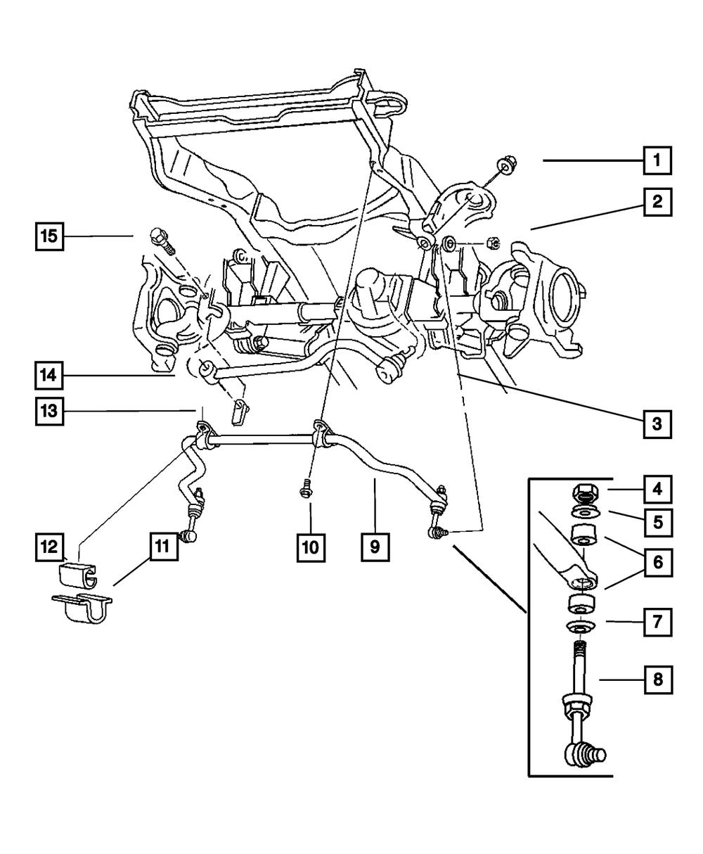 Dodge Ram Front Suspension Diagram : dodge, front, suspension, diagram, MOPAR, TRACK, FRONT, SUSPENSION, 01-02, Dodge, 1500-3500, 52113283