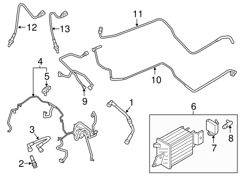 EMISSION SYSTEM for 2015 Ford F-150