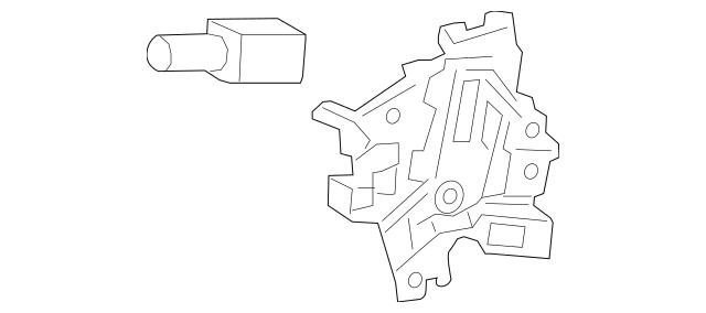 2016-2017 Honda HR-V 5-DOOR Lock Assembly, Shift 54028-T7A