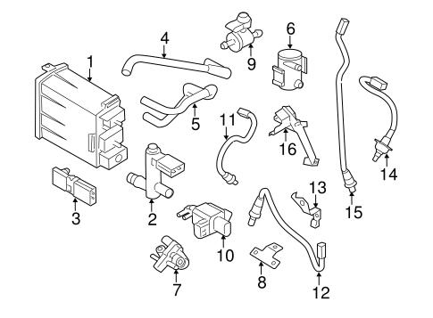 OEM 2010 Nissan Murano Powertrain Control Parts