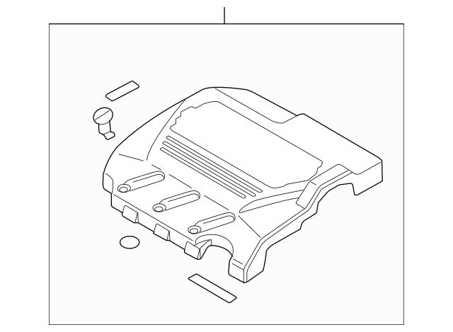 2004-2006 Acura TL SEDAN Cover Assembly, In Manifold 17121