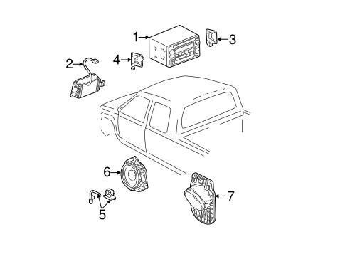 Genuine OEM Sound System Parts for 2004 Toyota Tundra SR5