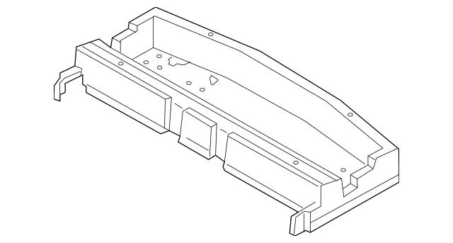 2014-2019 Mitsubishi Outlander Cargo Box 7646A187