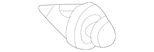 2007-2014 Acura Clip, Tailgate Garnish 91512-SJK-003