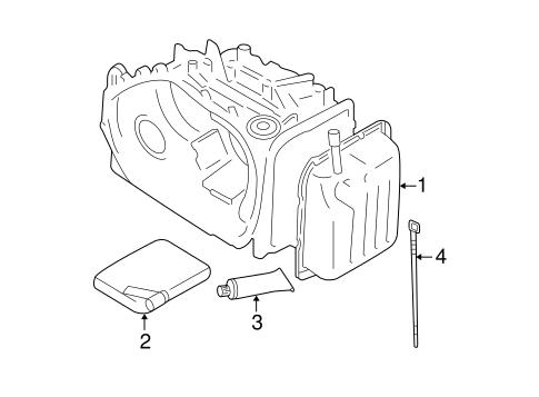 Automatic Transmission OEM Parts for 2007 Kia Sportage
