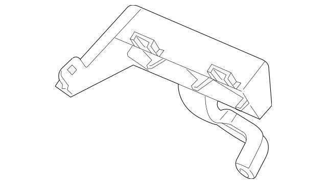 2016-2017 Honda Bracket, Sub-Fuse Box 38243-TG7-A01