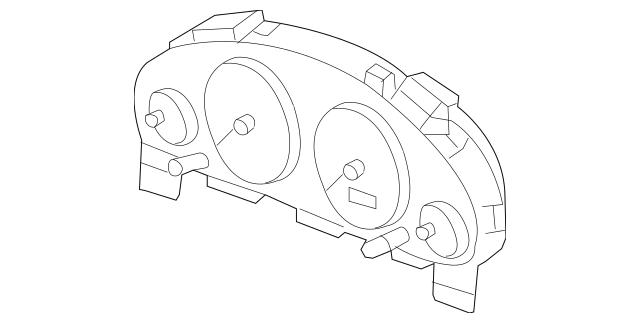 2005-2006 Honda CR-V 5-DOOR Case Assembly (Visteon) 78120