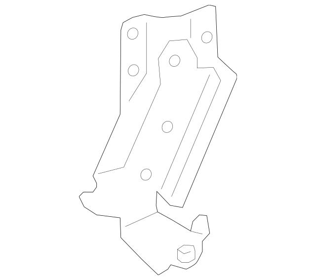 2014-2020 Ford Transit Connect Roller & Bracket DT1Z