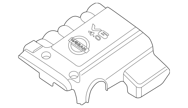 2005-2018 Nissan OEM NEW Upper Appearance Engine Cover
