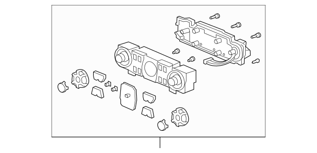 Genuine 2009-2014 Honda RIDGELINE SEDAN Control Assembly