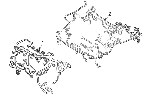 Wiring Harness for 2019 Mitsubishi Outlander Sport