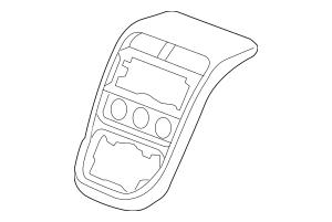 Genuine 2007-2011 Honda ELEMENT 5-DOOR Panel Assembly