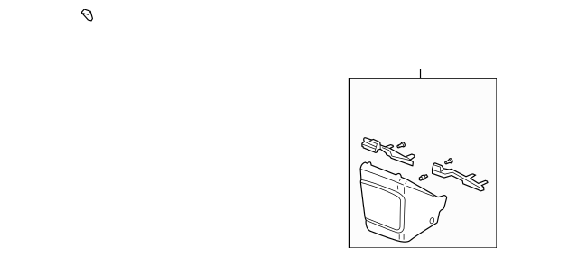 Discount Genuine OEM 2003-2006 Honda ELEMENT 5-DOOR Cover