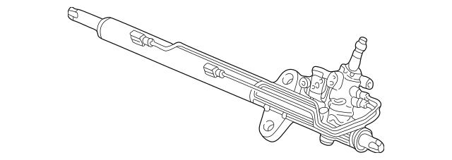 2006-2014 Honda RIDGELINE SEDAN Power Steering Rack, Core